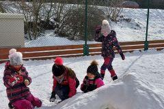 Školní hřiště 2 - zima 2021