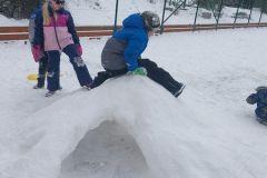 Školní hriště 4 - zima 2021