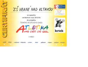 atletika plakát