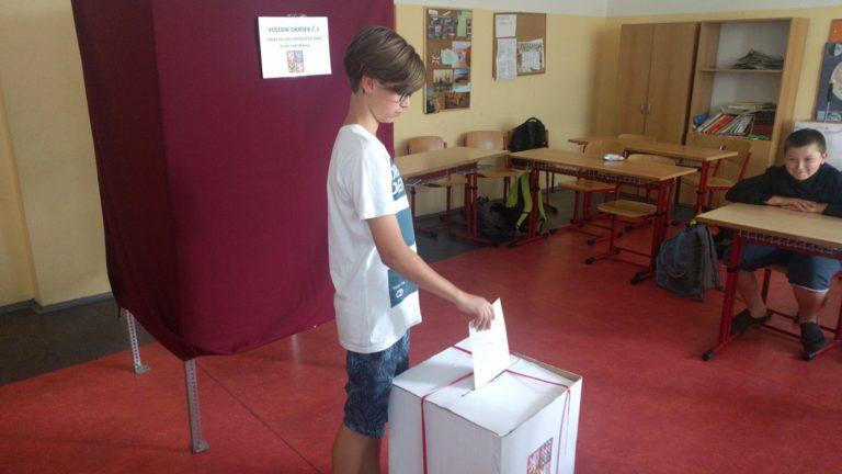 Volby v8.ročníku (Výchova kobčanství)