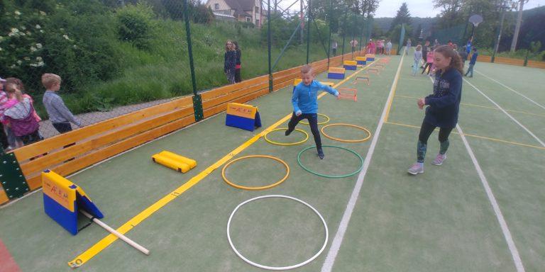 Tradiční atletické dopoledne ke Dni dětí