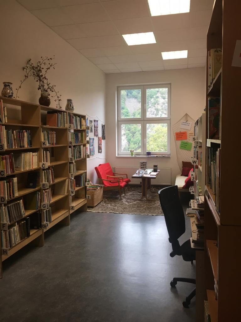 Otevření školní knihovny