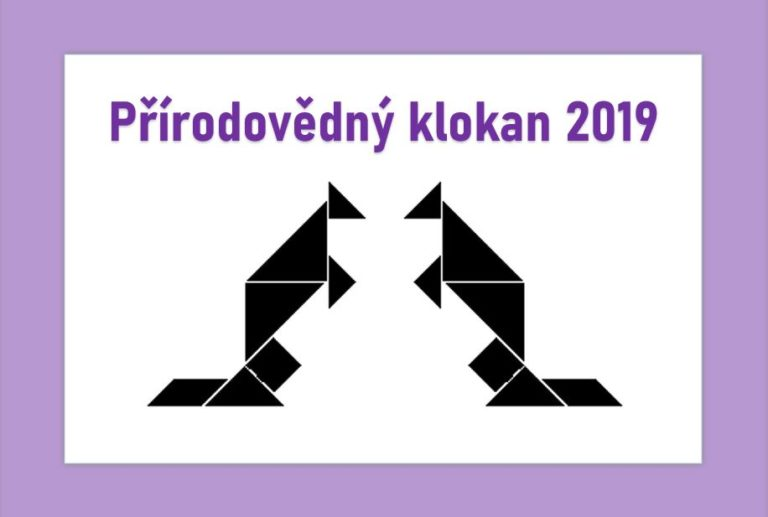 Soutěž Přírodovědný klokan pro 8. a 9. ročníky