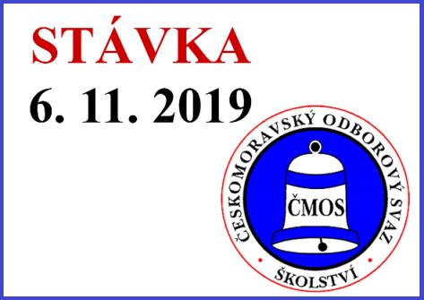 Stávka – 6. 11. 2019