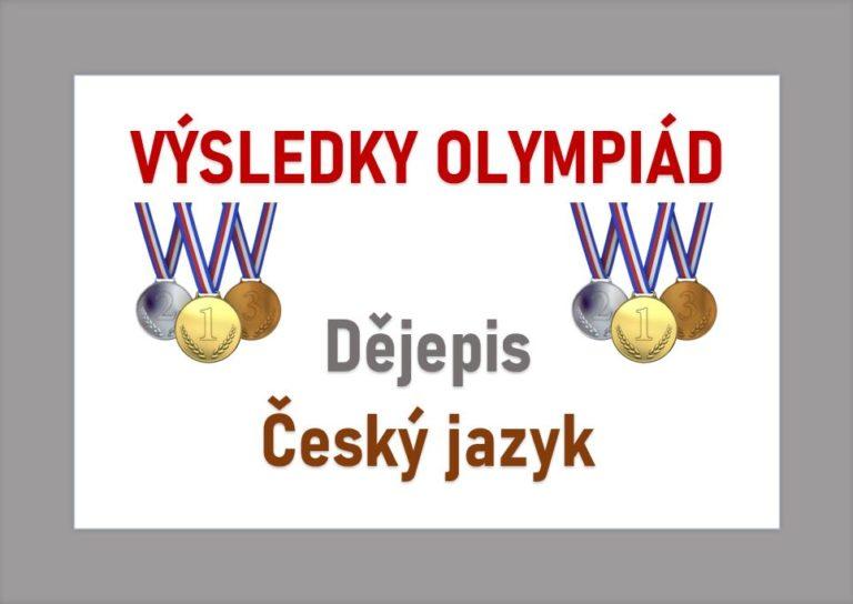 Olympiáda z dějepisu a českého jazyka
