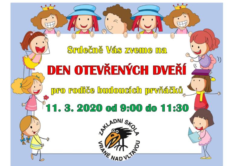 Den otevřených dveří pro rodiče budoucích prvňáčků