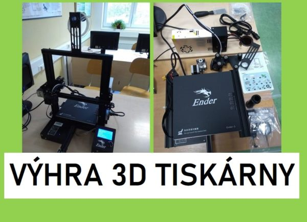 Výhra 3D tiskárny