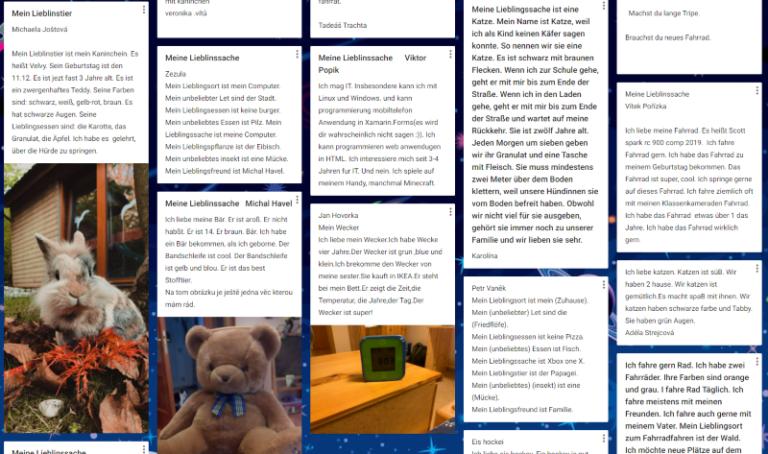 Výuka německého jazyka v online prostředí