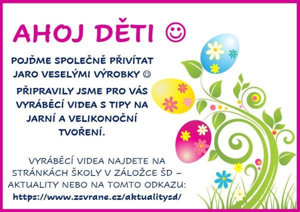 Velikonoční tvoření se ŠD