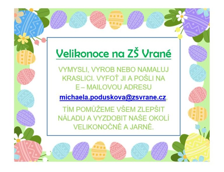 Velikonoce na ZŠ Vrané nad Vltavou