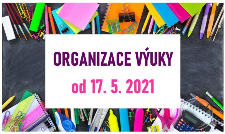Organizace výuky od 17. 5. 2021
