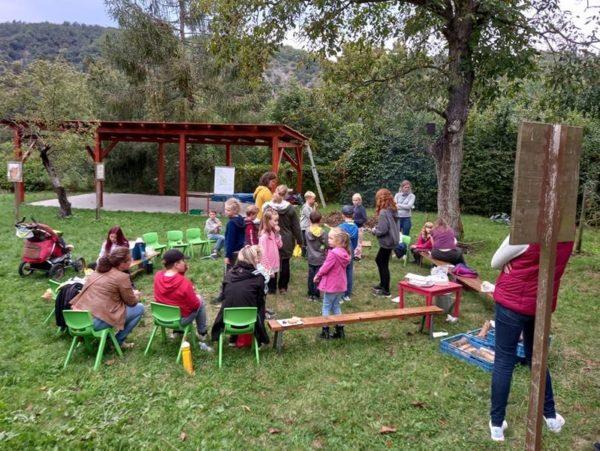 Odpoledne pro školní zahradu
